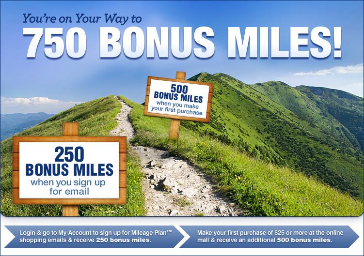 Mileage Plan Shopping Alaska Airlines 750 Bonus Miles