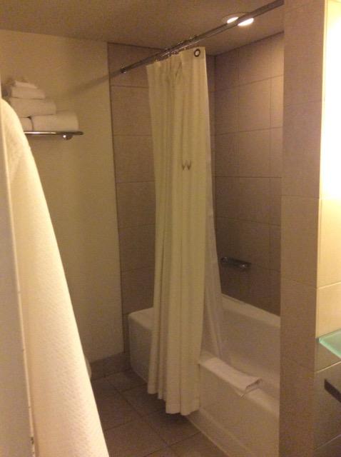 W Seattle Hotel - Soaker tub.