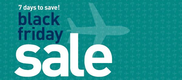 WestJet Black Friday Sale