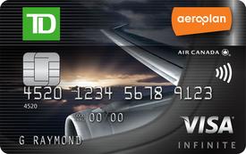 TD Aeroplan Visa Infinite Card Signup Bonus: 30,000 Aeroplan Miles, Annual Fee Rebate for First Year (Ends Dec 2, 2016)